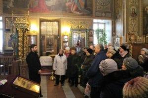 Поездка подопечных в Покровский храм села Покров
