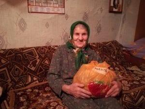 Спасибо от бабушки Вали