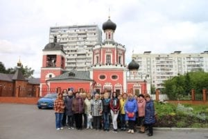 Поездка в Храм Троицы Живоначальной в Коньково