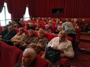 Наши подопечные посмотрели фильм в кинотеатре ГУМа