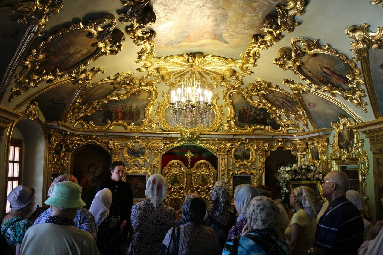 Поездка подопечных в Николо-Перервинский монастырь