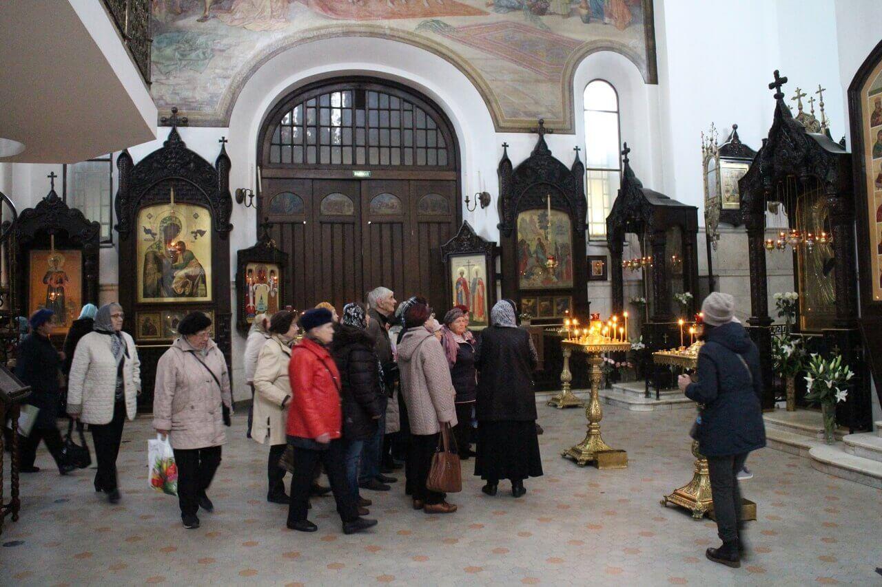 Поездка подопечных в Храм Воскресения Христова в Сокольниках