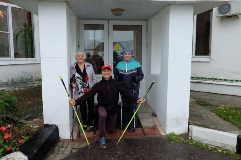 Скандинавская ходьба в Ногинске