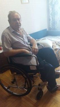 """Отчет по проекту """"Мир движений для маломобильных пожилых инвалидов Ставрополья"""""""
