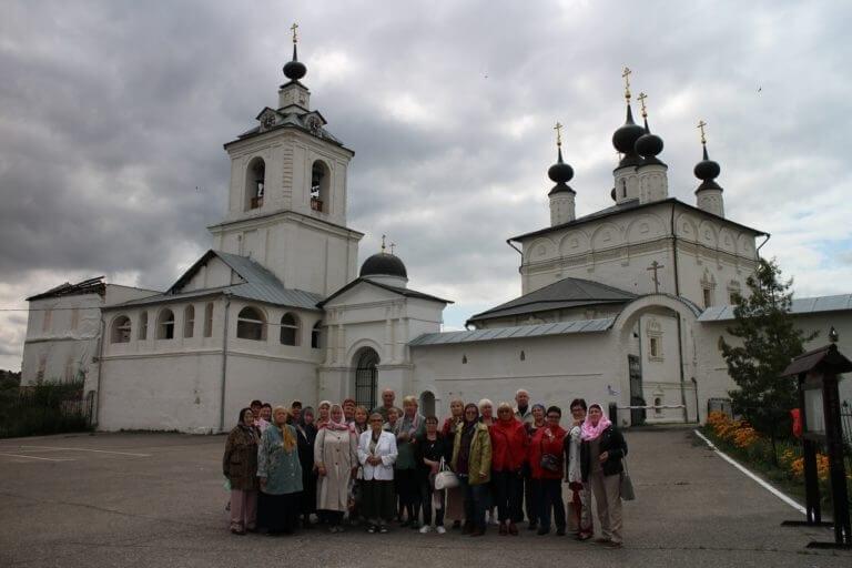 Активное долголетие в древнем Белопесоцком монастыре