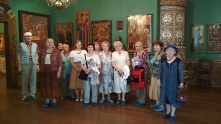 Подопечные на экскурсии в замечательном музее Сословий России