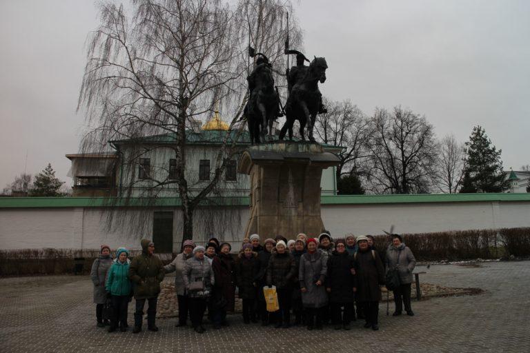 Подопечные на экскурсии в Дмитрове