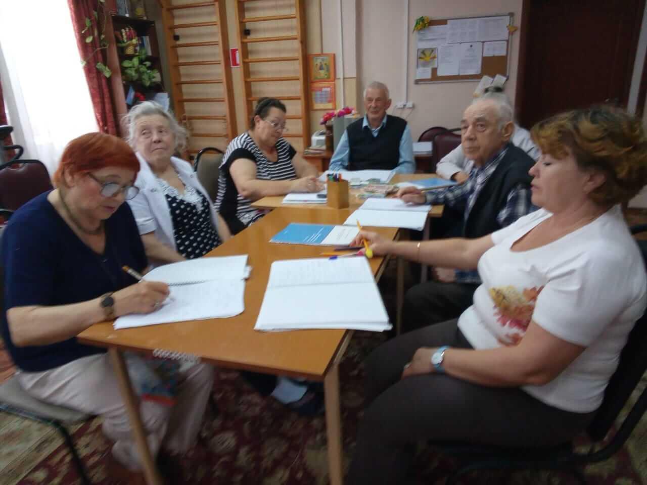 Второй дистанционный курс психологических тренировок памяти для пожилых людей