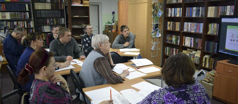Тренировки памяти для пожилых людей в Ковровском доме-интернате