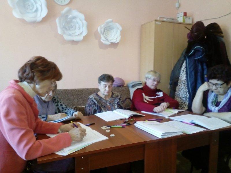 Начало дистанционного курса тренировок памяти для пожилых людей в Старожиловском комплексном центре