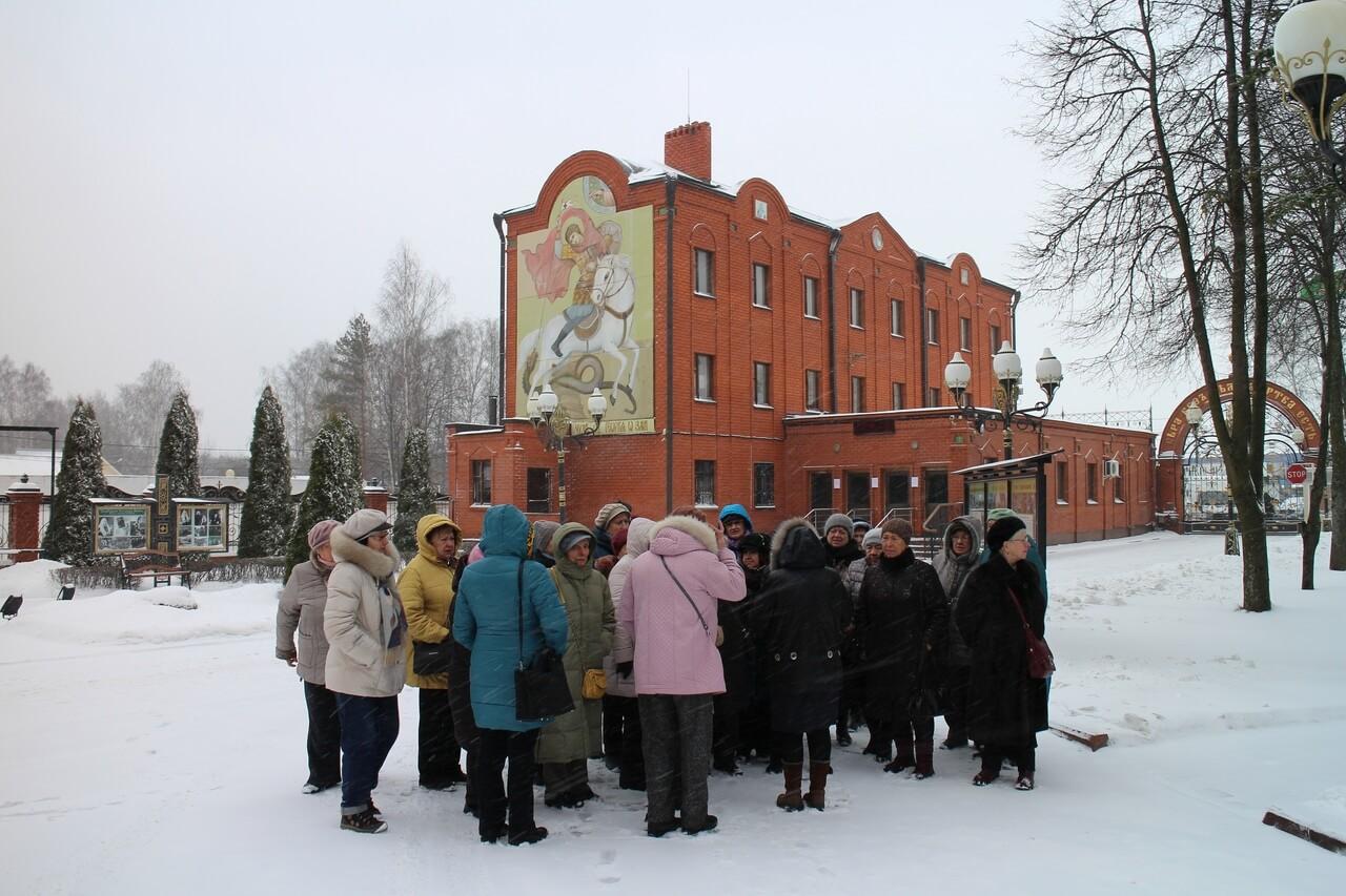Подопечные в  музее предприятия РПЦ в Софрино