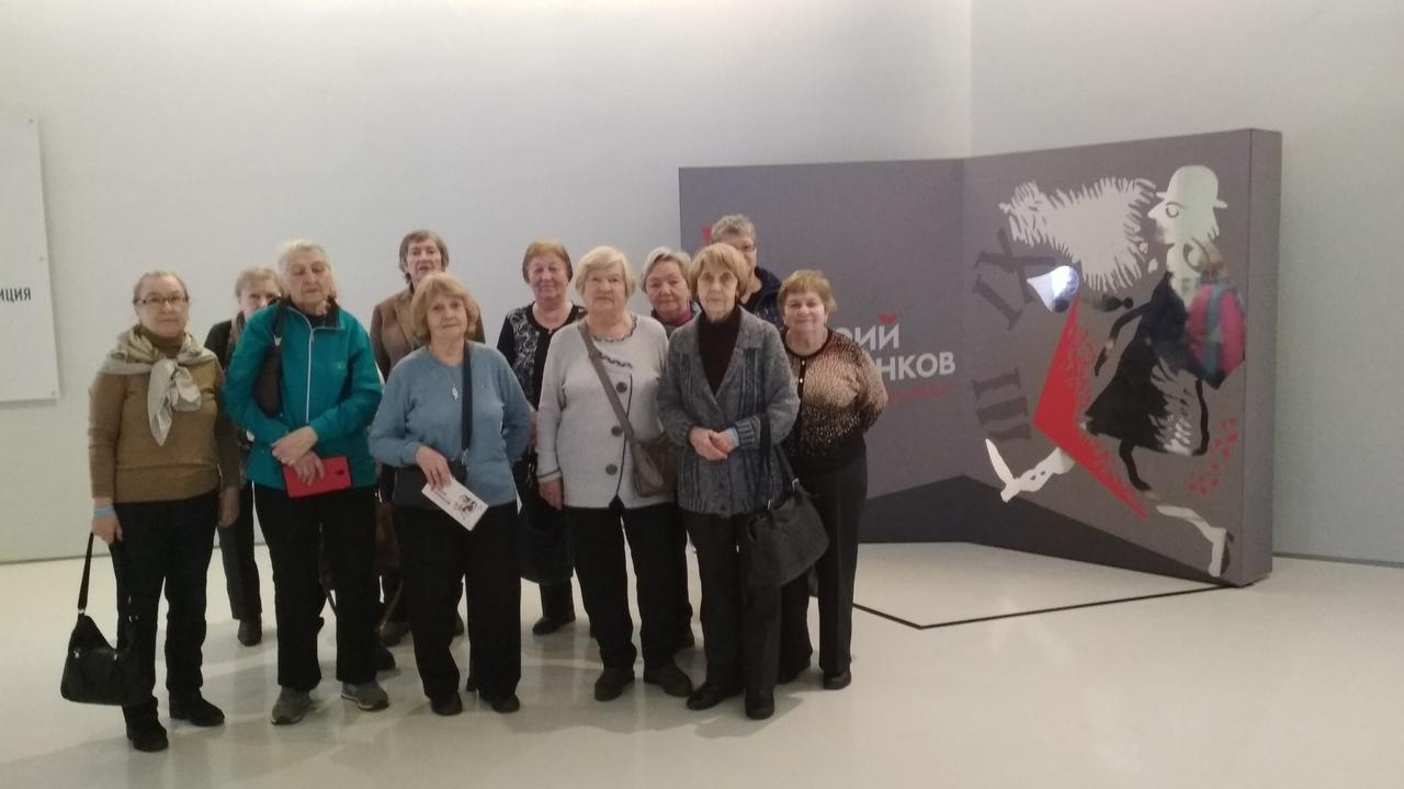 Активное долголетие в музее Импрессионизма