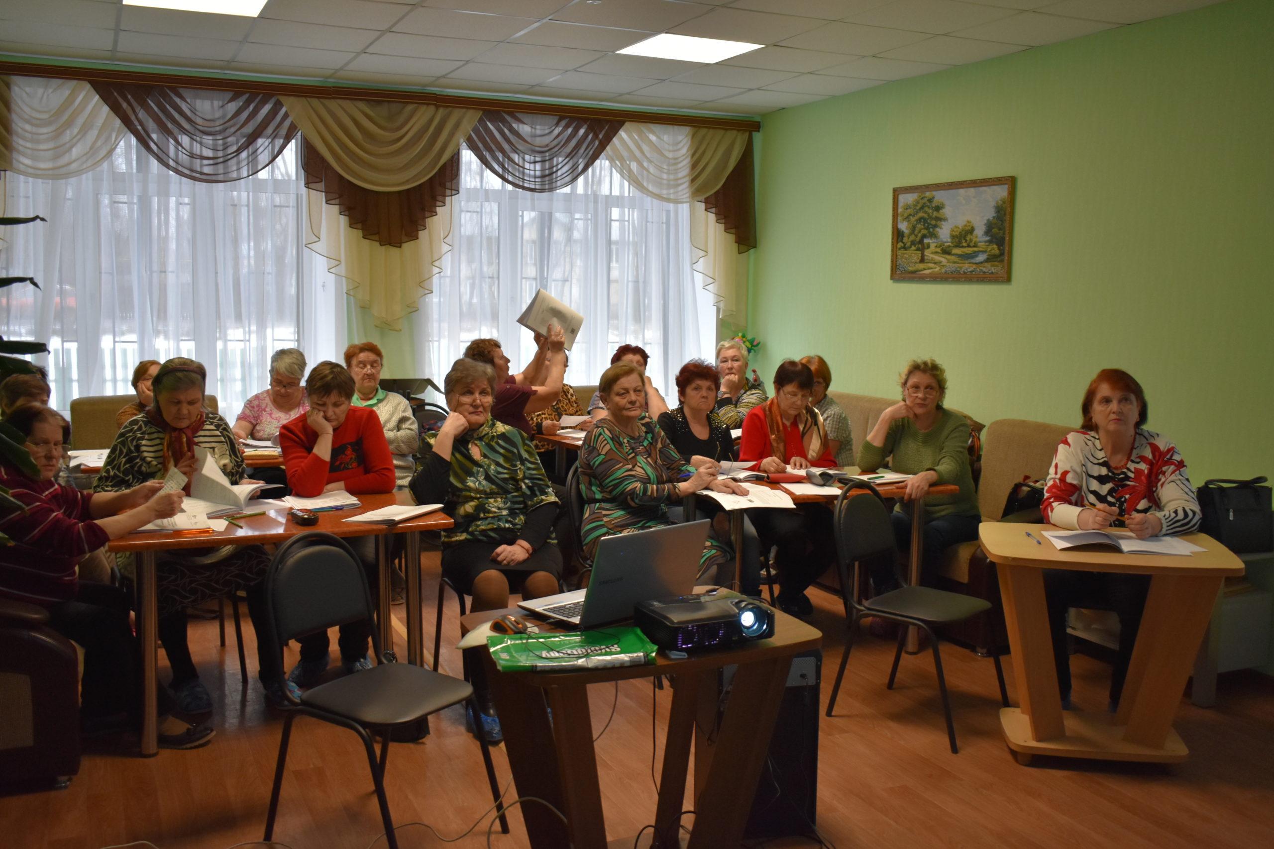 Занятия в ОБУСО «Заволжский ЦСО»