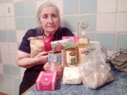 """Отчет по проекту """"Принесем продукты одиноким бабушкам и дедушкам"""""""