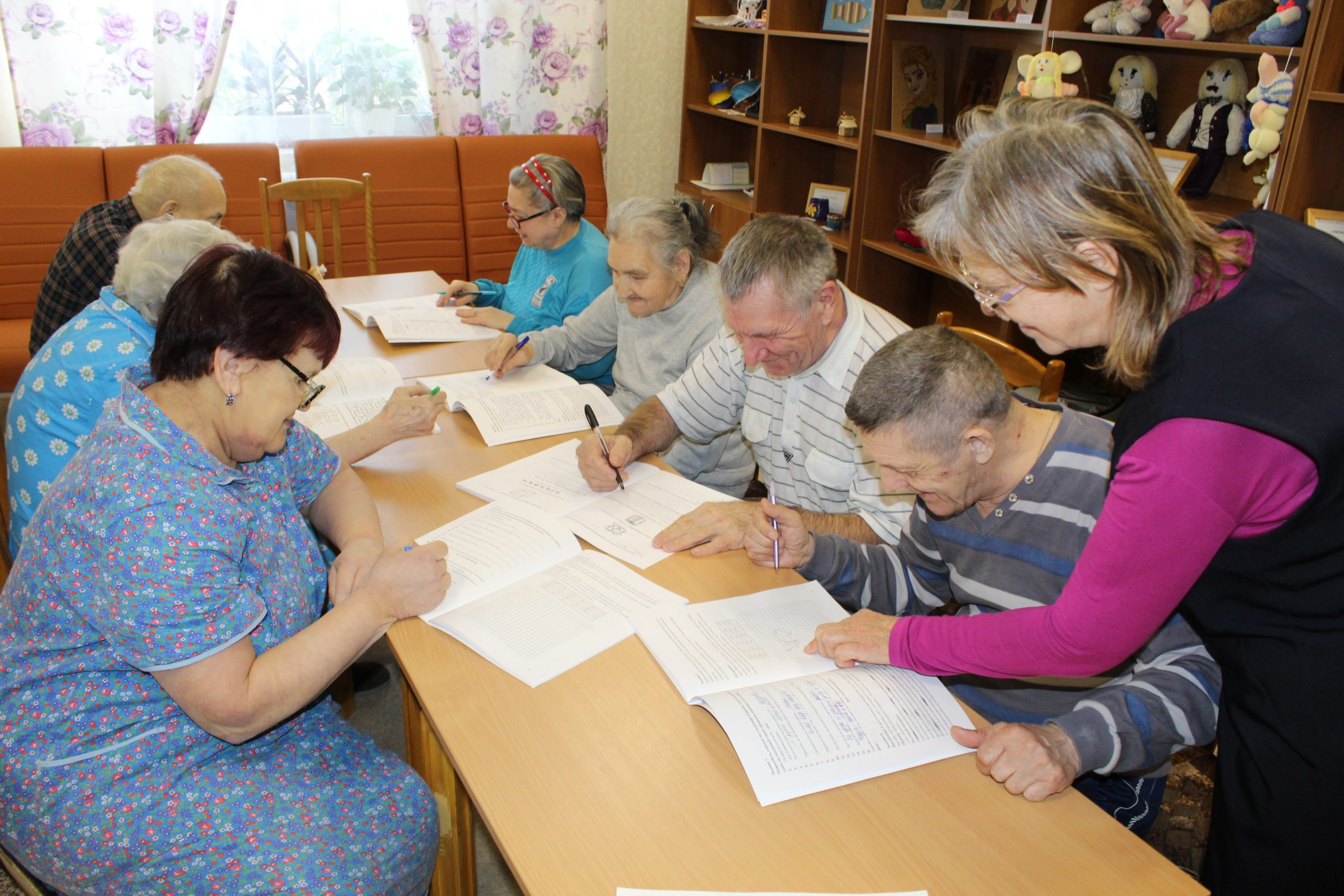 Абганеровский ДПИ и второй дистанционный курс психологических тренировок памяти для пожилых людей