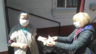 Отчет по раздаче санитарных средств в Железноводске