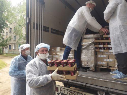 Благотворительная доставка