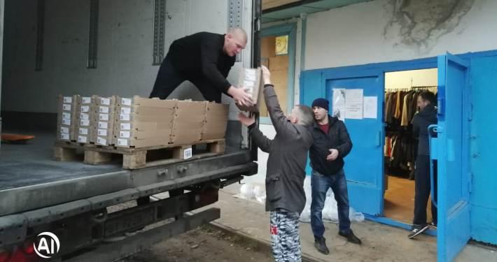Заставка для - Благотворительная доставка