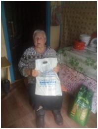 Отчет по раздаче продуктовых наборов в Смоленской области