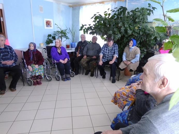 Заставка для - Бытовая техника для Селянского дома престарелых