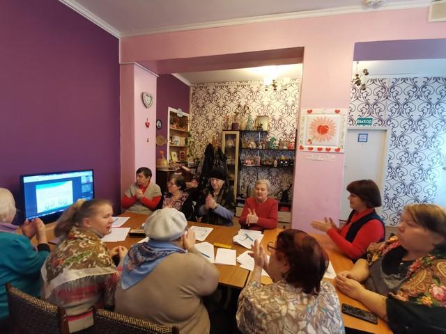 Завершение дистанционного курса тренировок памяти в Кировском районе