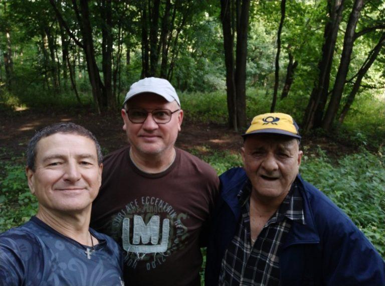 Скандинавская ходьба в Одинцовском доме престарелых