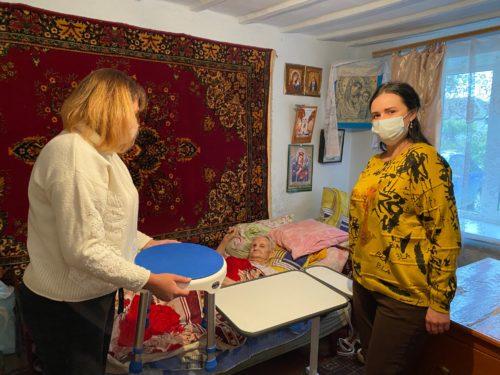 Технические средства реабилитации подопечным Новоселицкого района Ставропольского края